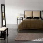 dormitor amenajat in spiritul filosofiei zen