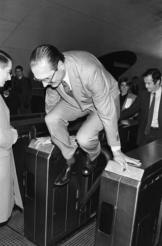 Jaques Chirac, in 1980
