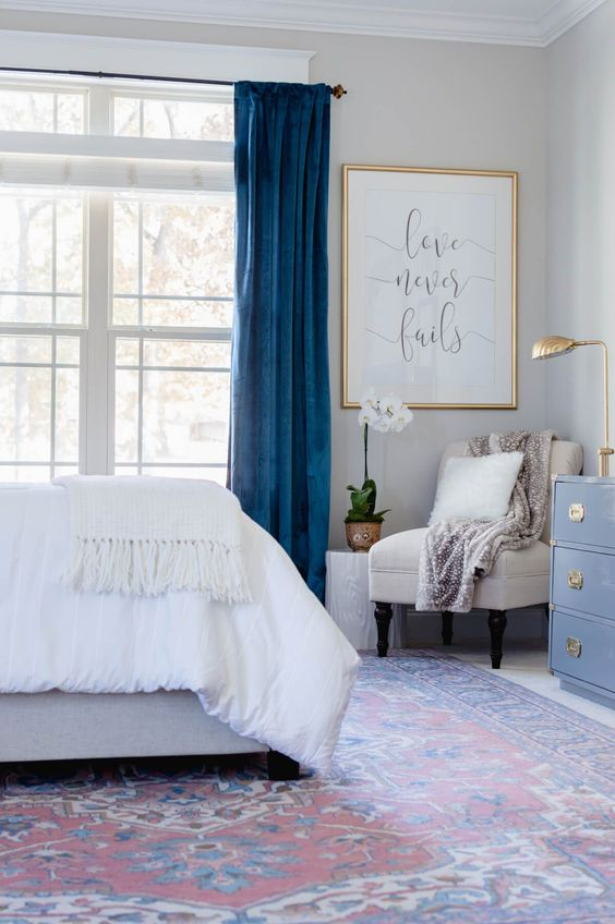 draperii-dormitor-draperii-albastre