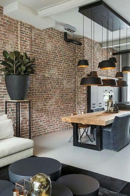 amenajari interioare case in stil industrial
